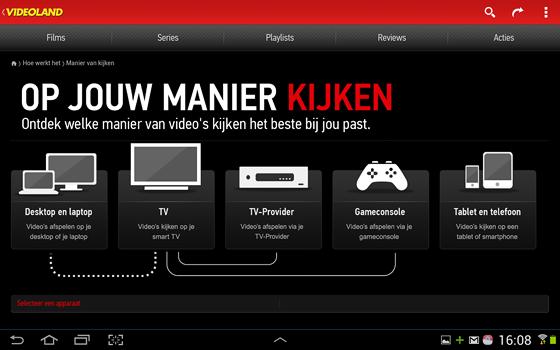 films videoland nederland