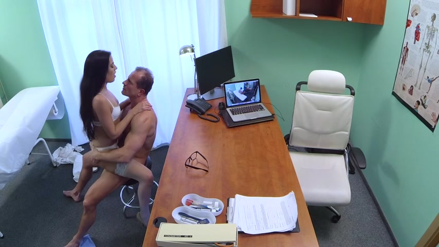 Fakehospital hot nurse join doctor and patient for threesome - 3 part 9